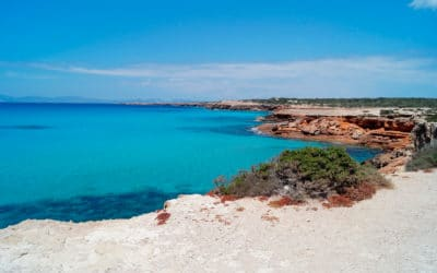 The best beaches of Formentera.